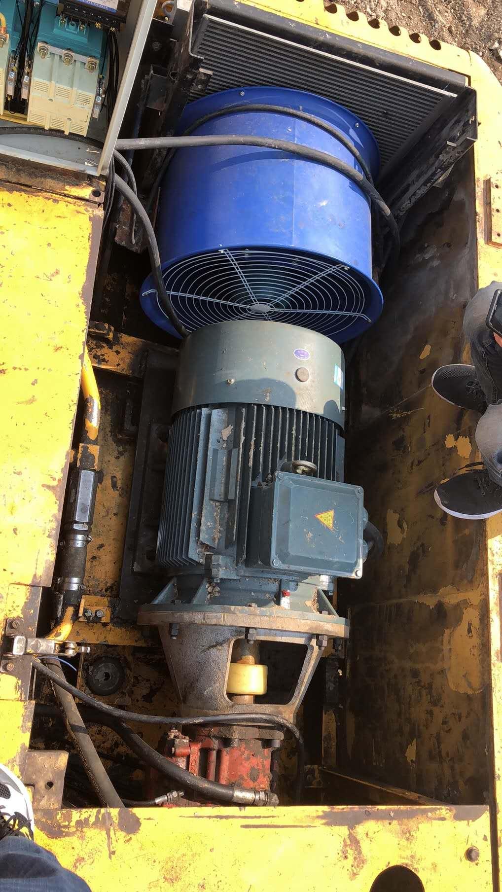 挖机油电两用改装